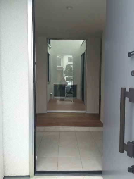 目黒区 新築 玄関スペース
