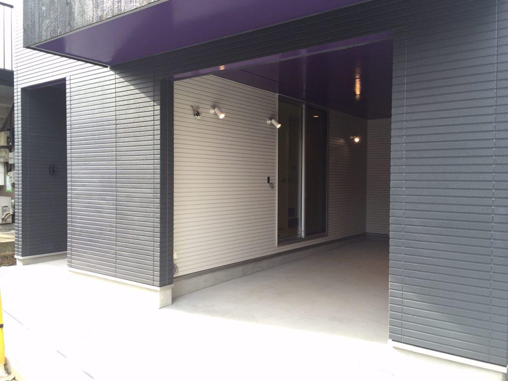 東京都杉並区 Y様邸 新築 車庫