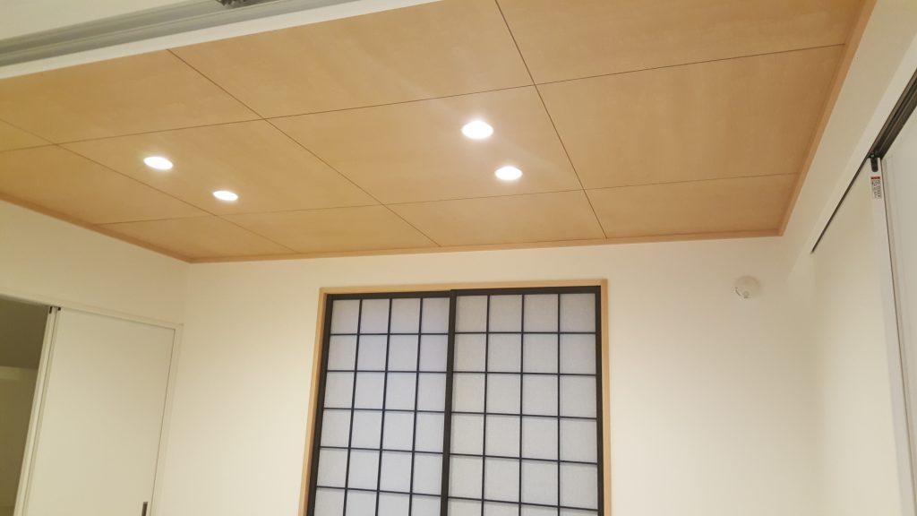 和室天井 ツキイタ