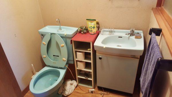 トイレルーム改造前
